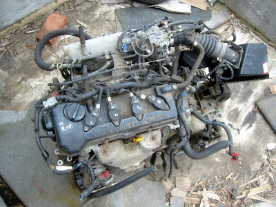 Japanese Used Engine And Spare Part Qg15 Engine Nissan