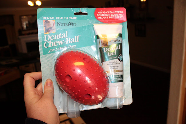Nutri-Vet Dental Chew-Ball