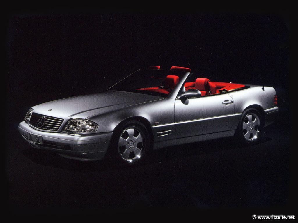 2001 Mercedes SL