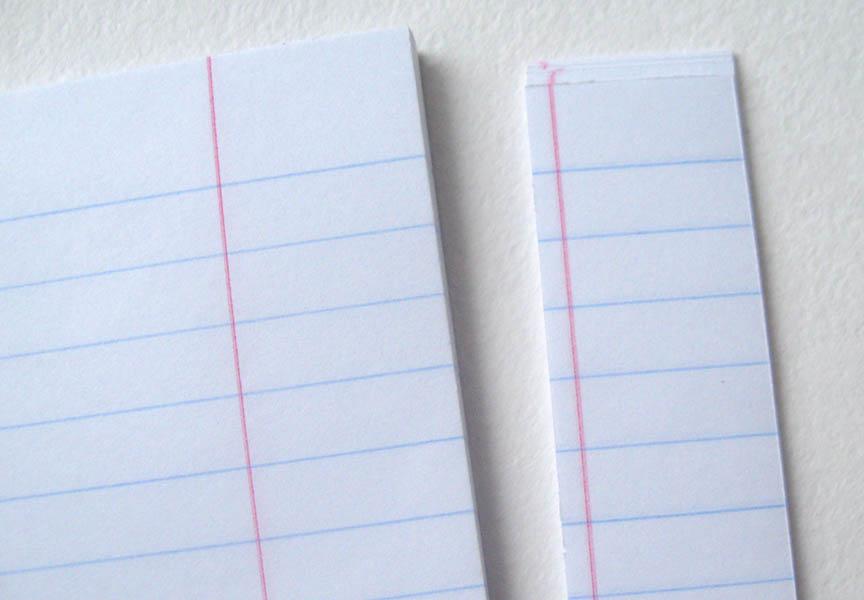 Как сделать тетрадь блокнот