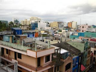 Saigon rooftops