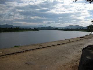 Perfume River at Thien Mu pagoda
