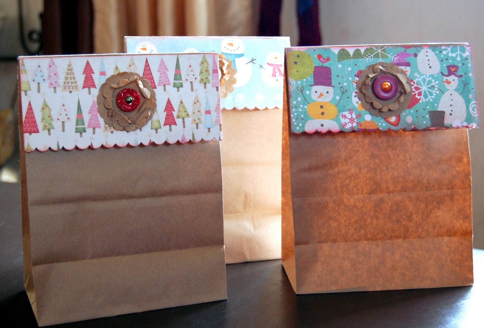 Ideas for scrapbookers creative gift bag