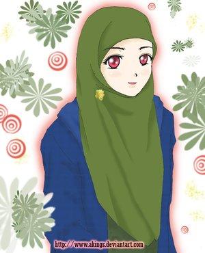 tapi bukan cuma sekedar jilbab , tapi harus bener bener yang baik ...