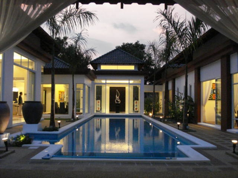 Bungalow minimalist house joy studio design gallery for Luxury minimalist house