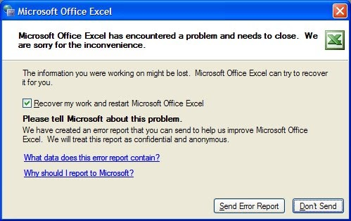 Problem opening excel files in ie not chrome