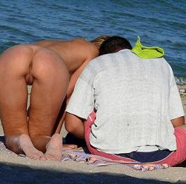 Flagra Em Praia Na Russia