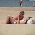 Flagra Casal Amador Fudendo na Praia
