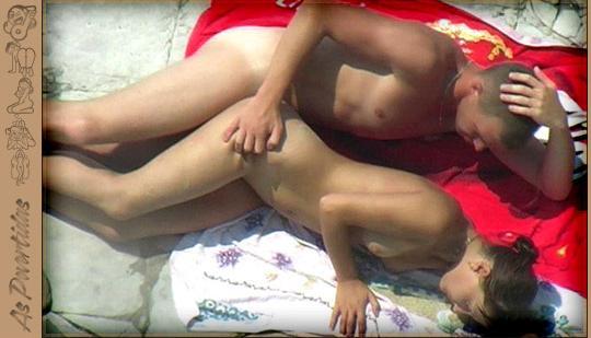 Rapidinha na Praia