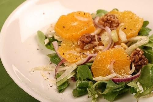 NAMI-NAMI: a food blog: An orange and fennel salad recipe
