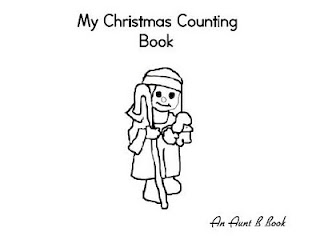 Here's a Christmas Counting Book for the Little Ones. Count mangers