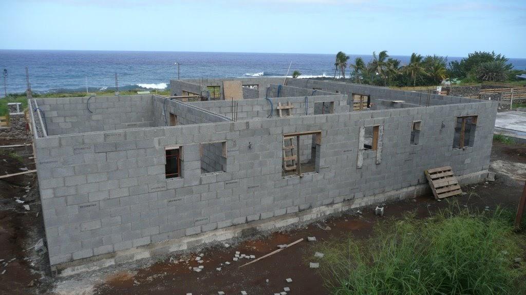Ma maison la r union les murs porteurs for Maison sans mur porteur