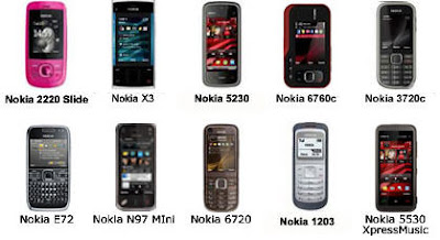 arga ponsel Nokia Indonesia New Type