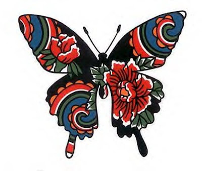 Tattoobutterfly on Butterfly Tattoo Designs   Art Tattoos