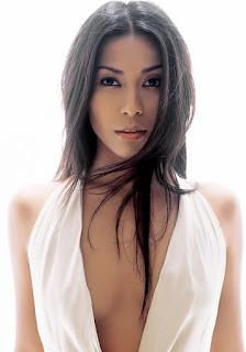 anggun c sasmi foto gambar seksi artis cewek cantik indonesia sexy photo gallery
