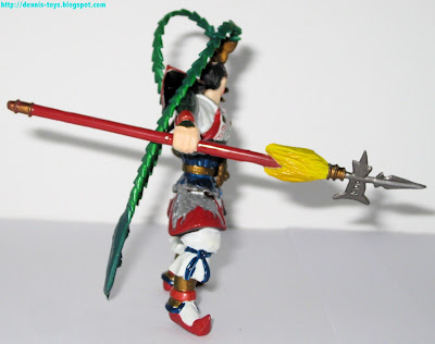 Back view of the mighty Lu Bu