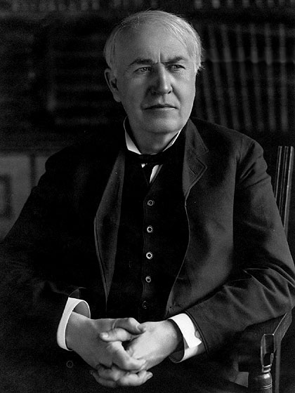thomas edison quotes. Thomas Edison