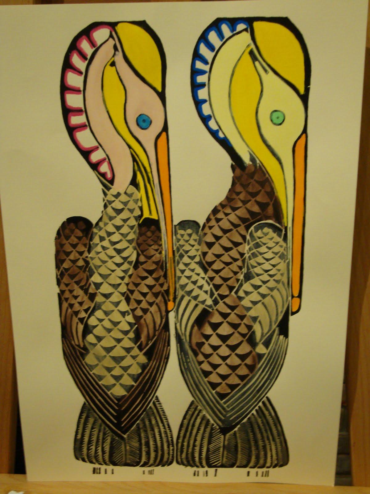 Walter+anderson+pelican