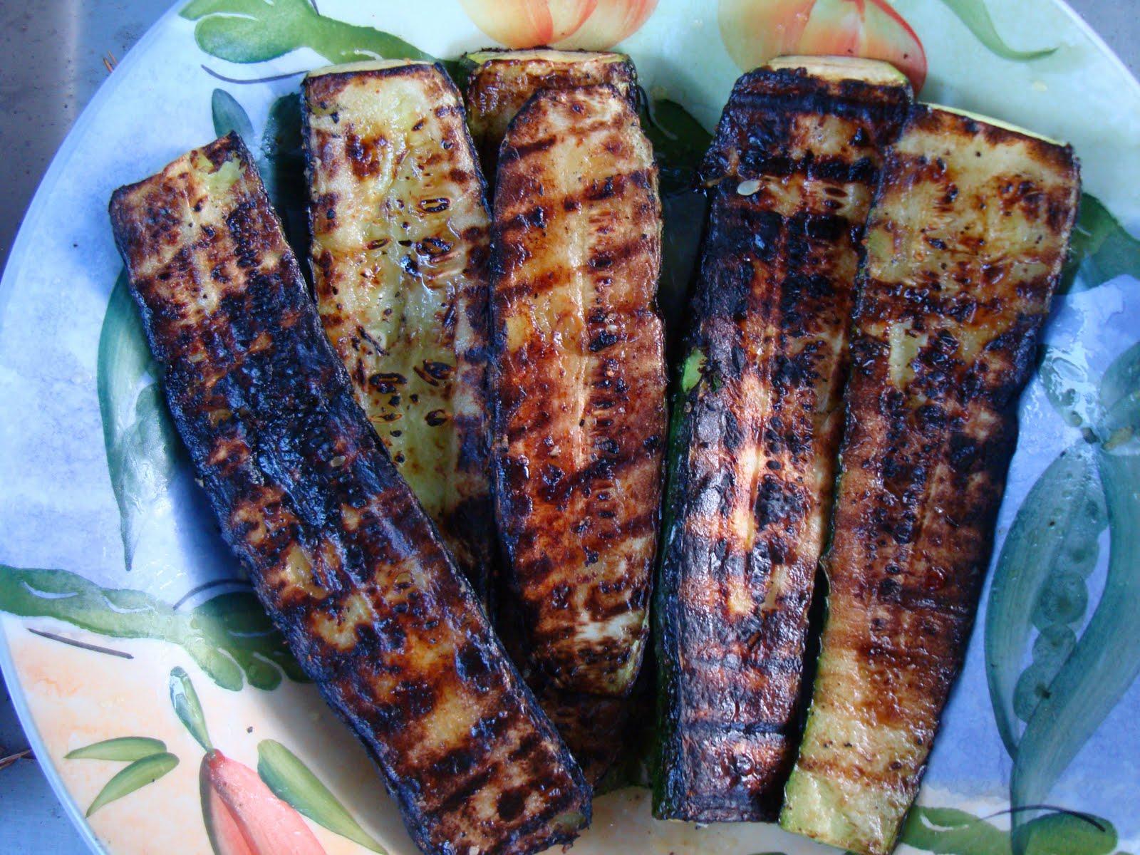 BBQDad1: Grilled bacon wrapped scallops, and garlic zucchini