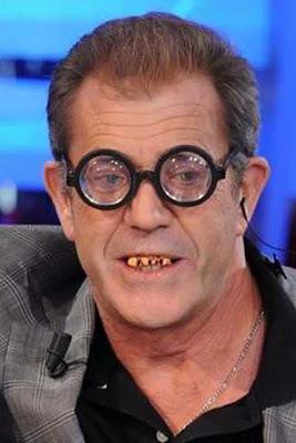 Mel Gibson arata ridicol