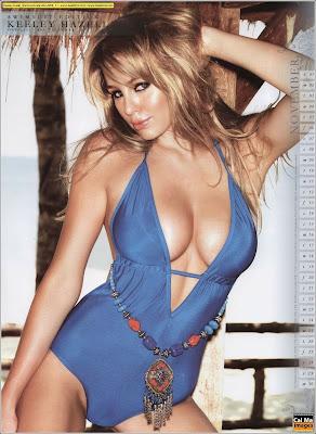 Keeley Hazell Bikini Calendar