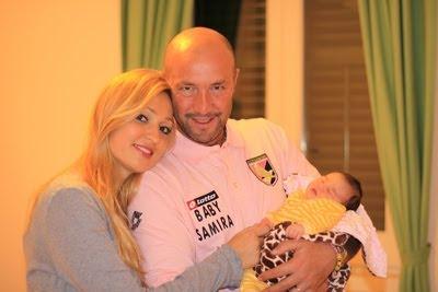 Raluca Zenga a nascut o fetita