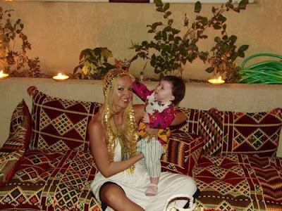 Raluca Zenga - aniversare in stil arab