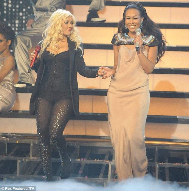 Christina Aguilera X Factor final
