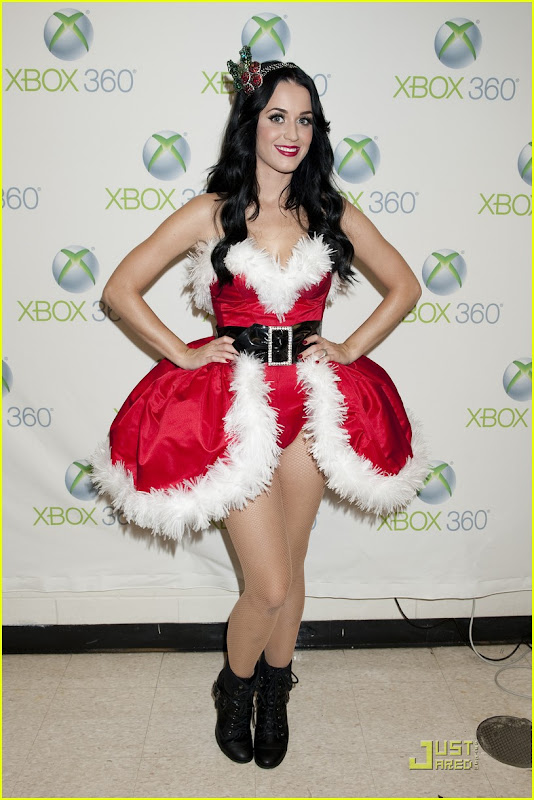 Katy Perry Is a Hot Santa
