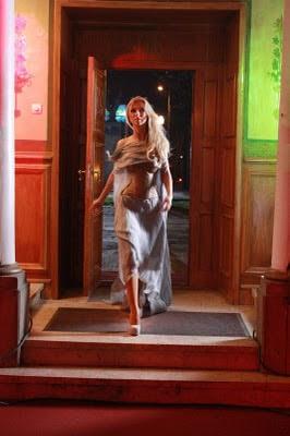 Poze Andreea Balan la filmarea  videoclipului Crazy About You