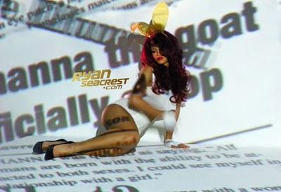 Poze filmari videoclip:Rihanna – S & M