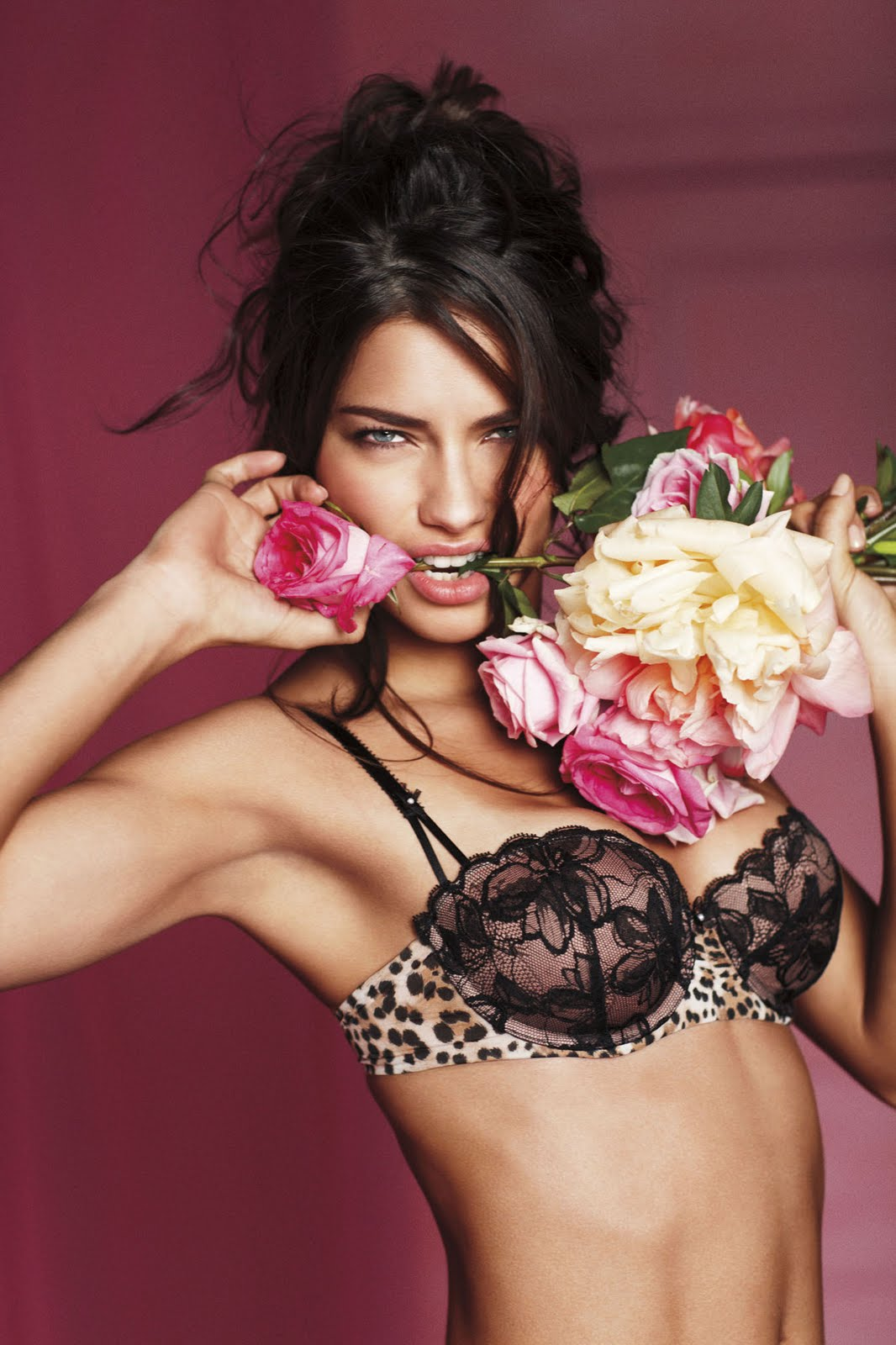 spindle: Adriana Lima - Special Valentine's Day Photoshoot