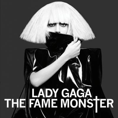 lady gaga fame album cover back. Lady Gaga Fame Monster Album