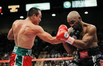 Marquez Casamayor combate de boxeo
