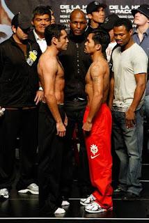 Oscar De La Hoya vs Manny Pacquiao Boxeo
