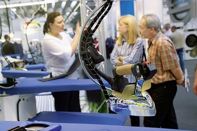 Texcare 国際クリーニング展(フランクフルト)