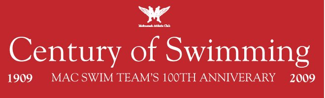 MAC Swim Team's 100th Anniversary