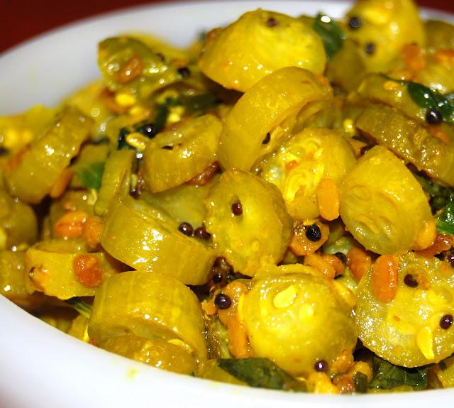 Tondlichi bhaji, Kovakkai curry