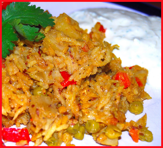 biryani with mixed vegetables