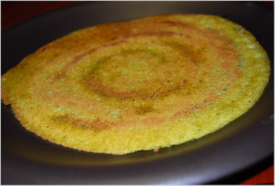A gluten-free recipe for South Indian Dosa