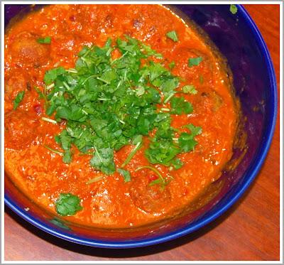 Veg Kofta Curry