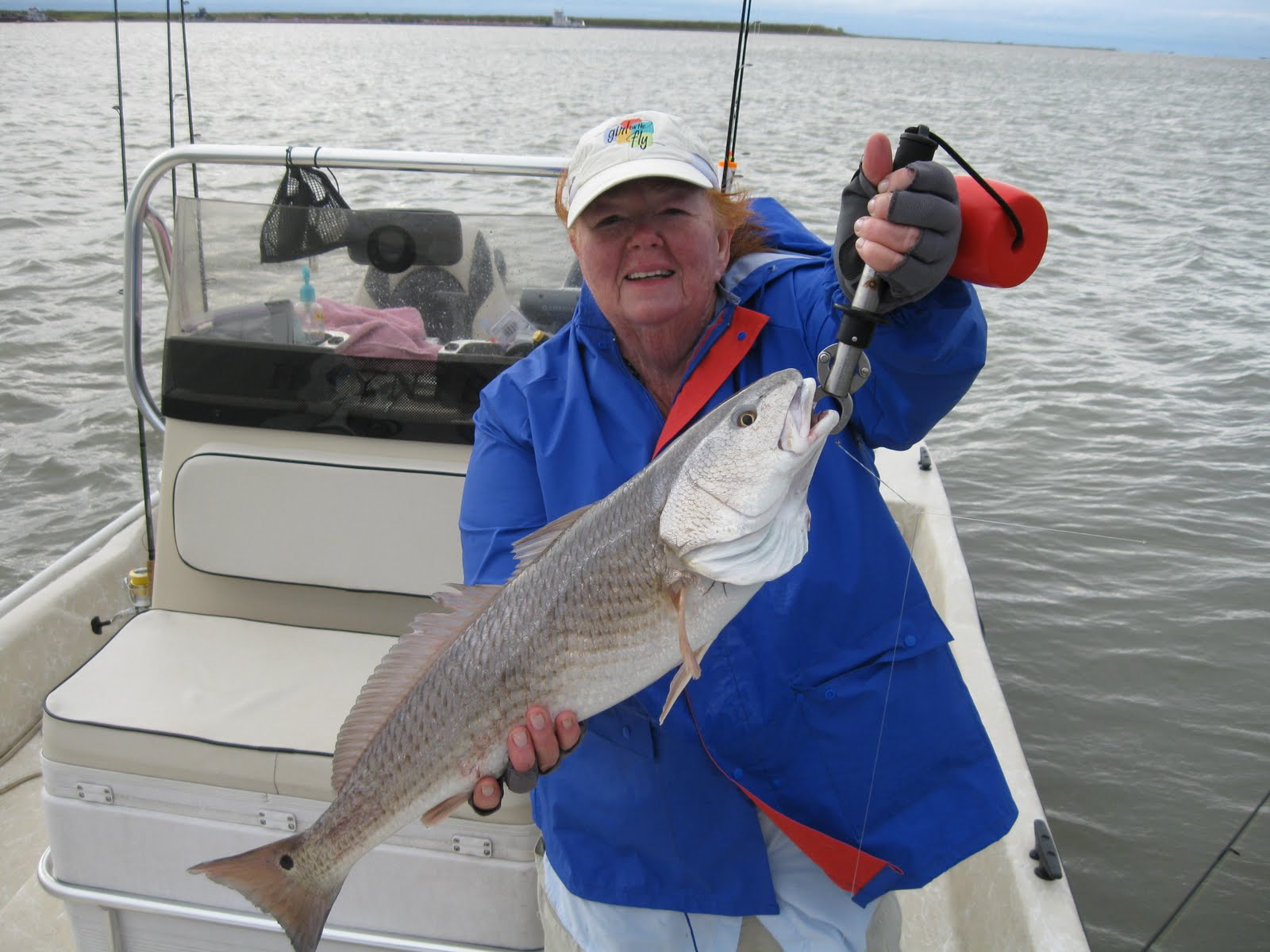 Ron 39 s rockport fishing reports ladies catch fish for Rockport texas fishing report