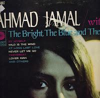 Cover Album of Ahmad Jamal: Bright, Blue and Beautiful (1968)
