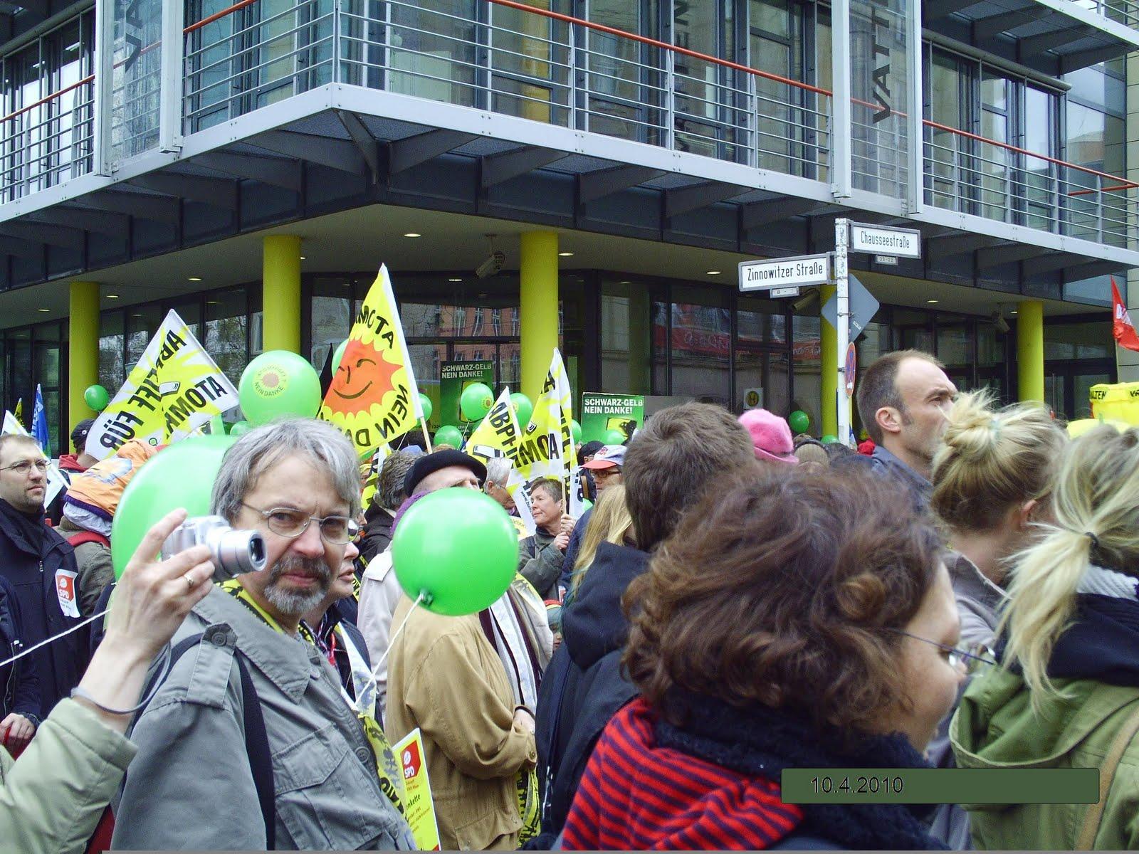 der grüne mob