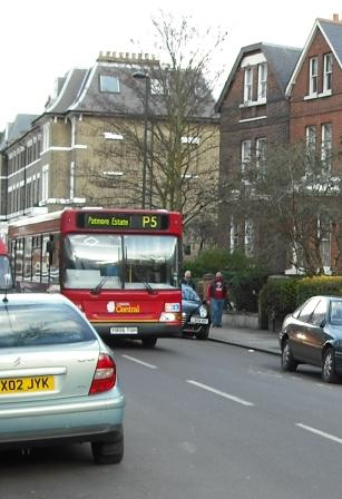 London P5 bus on Vassallview.com