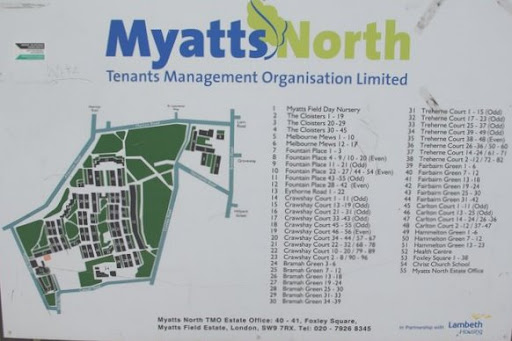 Myatts North sign on Vassallview.com