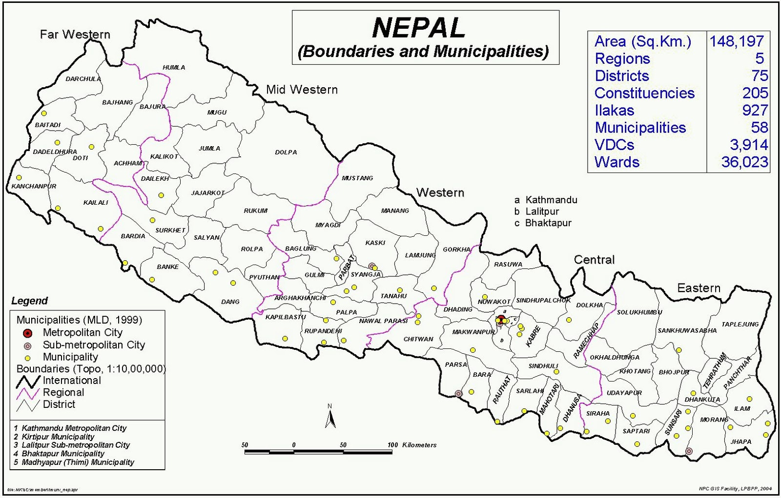 places of nepal, Naturally Nepal