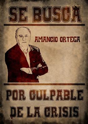 Amancio Ortega,a culpable de la crisis