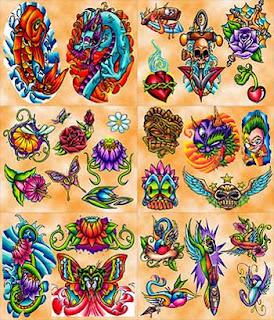 tattoo flash, tattooing