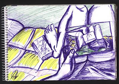 dibujo mog-ur sofa